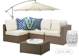 Ikea Patio Furniture Cushions - olive lane outdoor lounge design