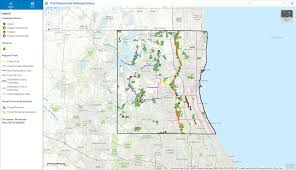 Chicago Area Zip Code Map by Maps Lake County Il