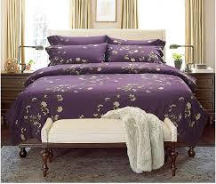 Purple Velvet Comforter Sets Queen Purple Velvet Bedding Sets Bedding Queen