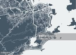 city map de janeiro city map vector getty images