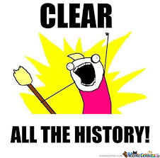 Clear Meme - clear all the history by aleksandra meme center