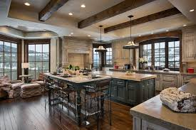 distressed kitchen cabinets kitchen rustic with arched window