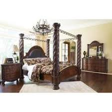 ashley king bedroom sets ashley furniture ashley north shore poster king bedroom set