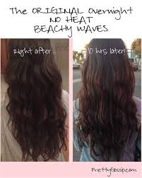 no heat overnight beachy waves worth a try though i doubt my