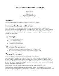 Civil Engineer Resume Template by Engineer Resume Template Fungram Co