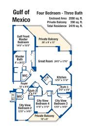 four bedroom floor plans 4 bedroom condo floor plan silver towers