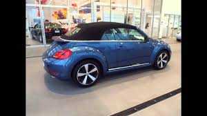 volkswagen beetle colors 2016 2016 volkswagen beetle silk blue metallic youtube