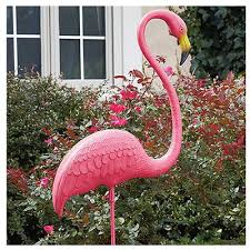 featherstone flamingo statue standing 52 in model 62565