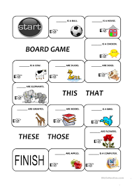 demonstratives this that these and those worksheet free esl
