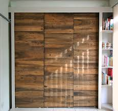 Wood Sliding Closet Doors Create A New Look For Your Room With These Closet Door Ideas