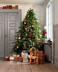 ikea decor country christmas tree decorating ideas contemporary
