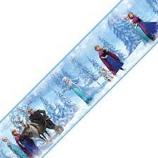 4 piece disney frozen self stick wall border rolls contemporary