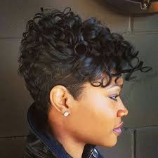 short natural edgy hairstyles tapered hairstyle for black women loving the hair pinterest
