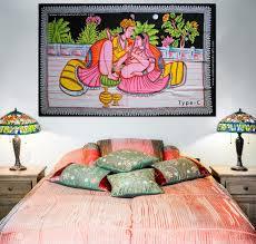 home decor tapestry kamasutra position painting batik wall hanging ethnic