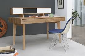 tidy folding table study desk combined with white seat and