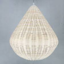 simple bamboo rattan lantern pendant lights creative dining table