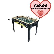 amazon com foosball table kmart joola foosball table for 29 99 69 95 on amazon