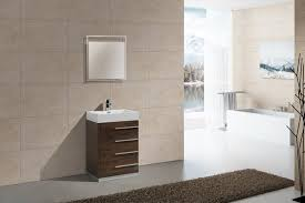 24 Bathroom Vanity With Drawers by 24 Inch Rose Wood Finish Modern Bathroom Vanity With Four Drawers