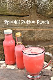 spooky halloween recipes potion punch u0026 swamp apples three