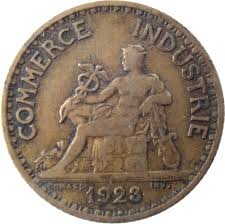 inscription chambre de commerce 1 franc chambres de commerce 1920 1927 km 876 coinsbook
