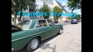 classic mercedes sedan classic mercedes 300 sel w109 on holliday in frankfurt city