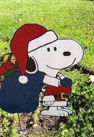 peanuts snoopy and woodstock yard 20 inches 24