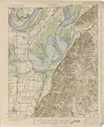 Map Of Tennessee River by