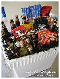 Gift Delivery Ideas Guys Fishing Weekend Cooler Basket Tricky Tray Ideas Pinterest