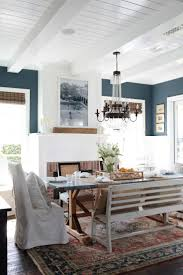 80 best dining room inspiration images on pinterest home blue and white dining room with fireplace