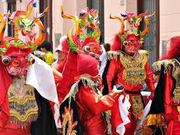 carnival in peru perutelegraph