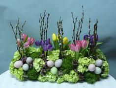 easter arrangements centerpieces easter floral display on the font easter luncheon or party