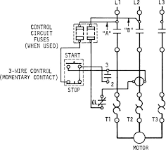 a three wire start stop circuit with multiple start stop push