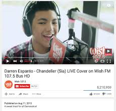 Chandelier Sia Cover Darren Espanto Earns Phenomenal Reactions For Singing Sia U0027s