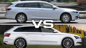 2018 opel insignia wagon 2018 opel insignia sports tourer vs 2017 skoda superb combi youtube