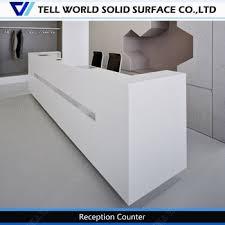 Unique Reception Desk Rectangle Acrylic Tall Reception Desk Unique Reception Desks