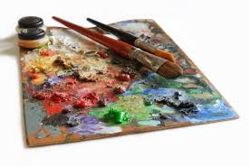 artistic palette free stock photo free images