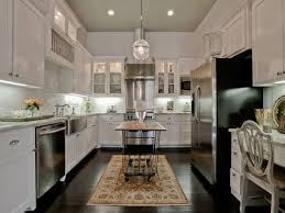 white kitchen cabinets with stainless steel appliances discount