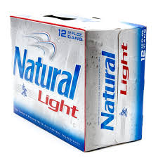 how much alcohol is in natural light beer natural light beer 12oz can 12 pack beer wine and liquor