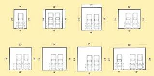 single garage dimensions double garage sizes standard double garage door size download of a