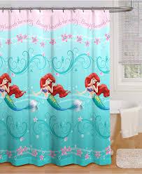 disney little mermaid shower curtain home design u0026 interior design
