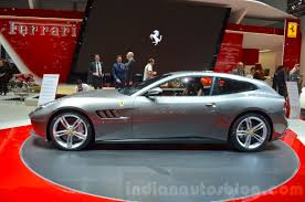 ferrari side ferrari gtc4lusso side at the 2016 geneva motor show live indian