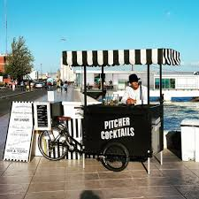 ideas for mobile food carts and stalls on wheels visual