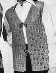 shell stitch vest pattern crochet patterns