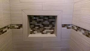 bathroom remodel with custom tile shower dave norris contracting