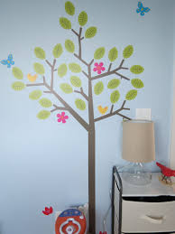 rock shic project nursery seasons tree wall decal courtesy of wall candy arts