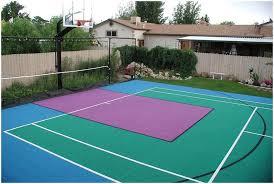 Backyard Tennis Courts by Backyards Trendy Backyard Tennis Court Cost Of Building Backyard