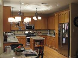Copper Kitchen Light Fixtures Kitchen Awesome Traditional Kitchen Chandelier Design With Drum