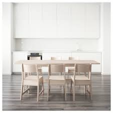 white ikea table norråker norråker table and 6 chairs ikea