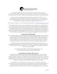 Pr Resume Sample by Best Pr Resumes Free Resume Example And Writing Download