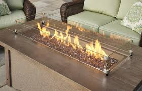 amazing party with the glass fire pit interior design ideas and